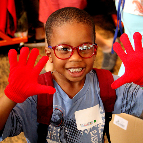photo of young boy at Back to School! Store