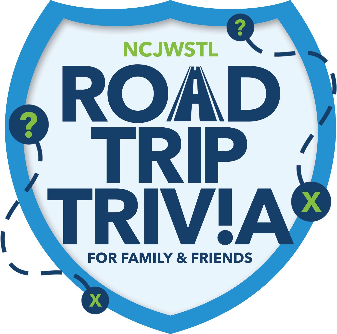 Road Trip Trivia for Family & Friends
