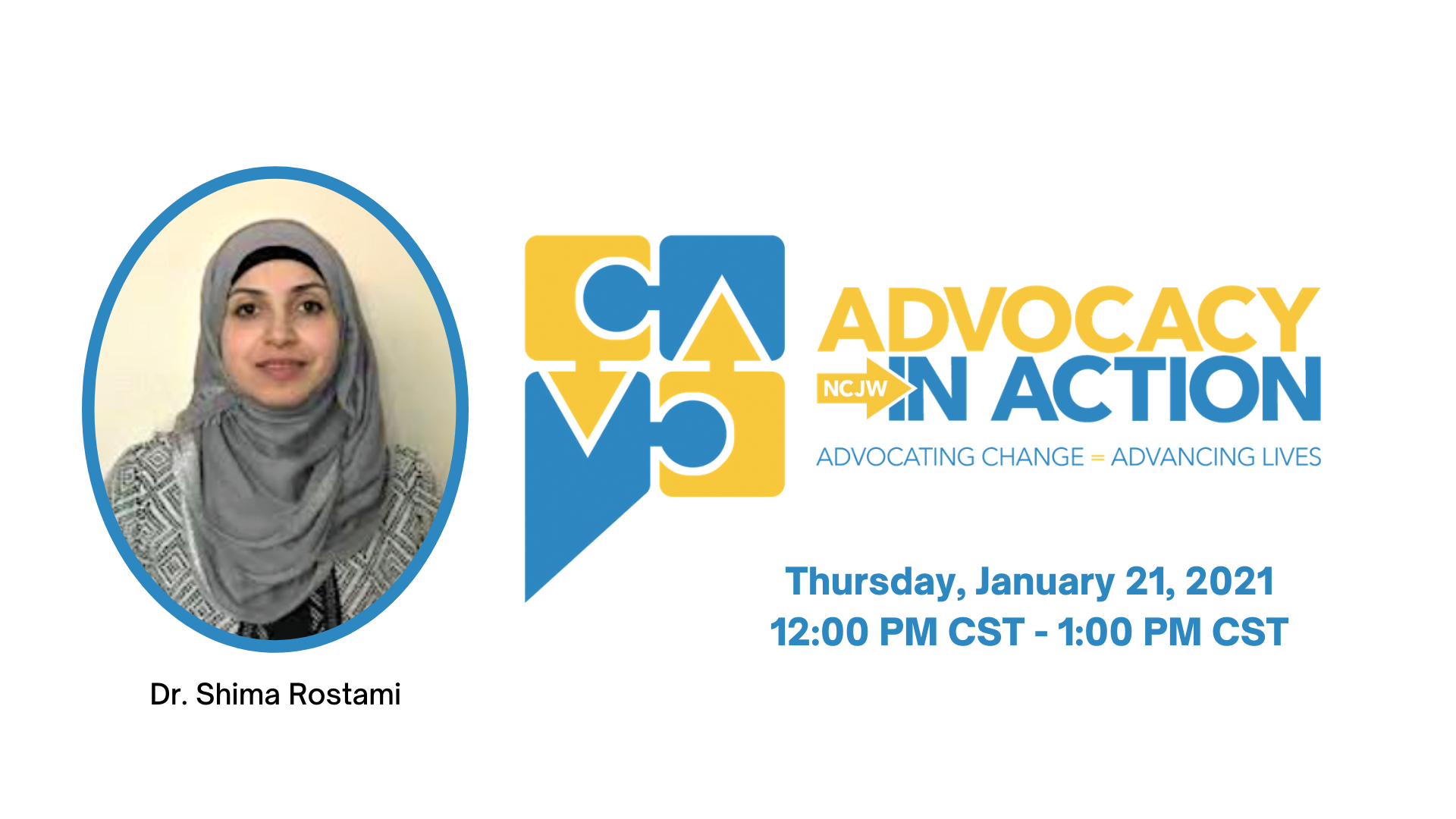 Advocacy in Action Lunch & Learn